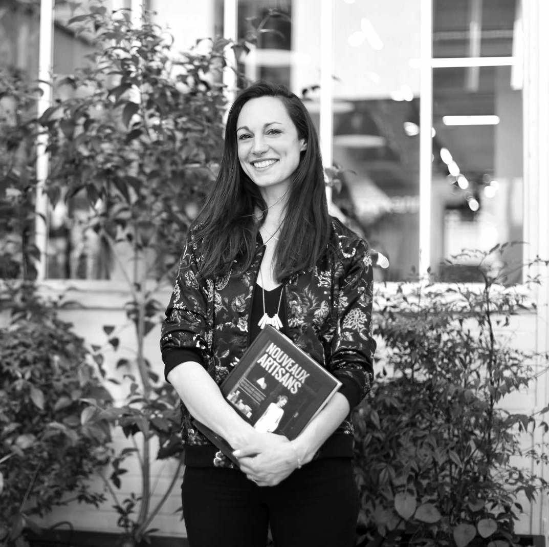 Magali Perruchini, auteure de Nouveaux Artisans