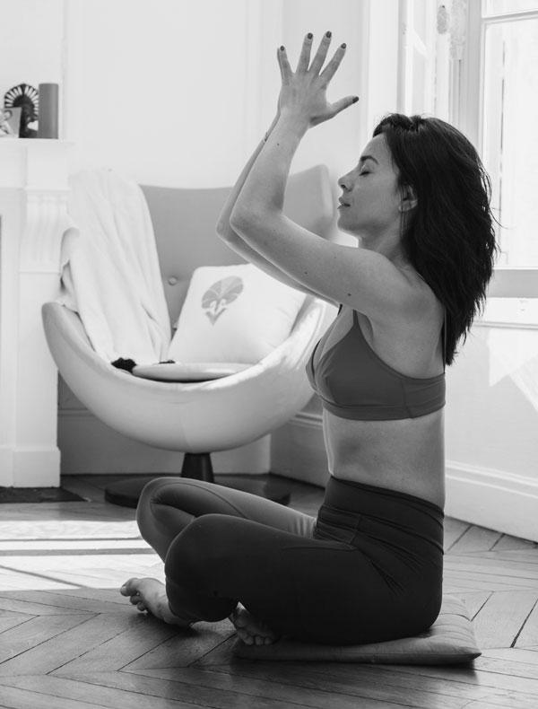 Charlotte Muller, yogi de la fertilité