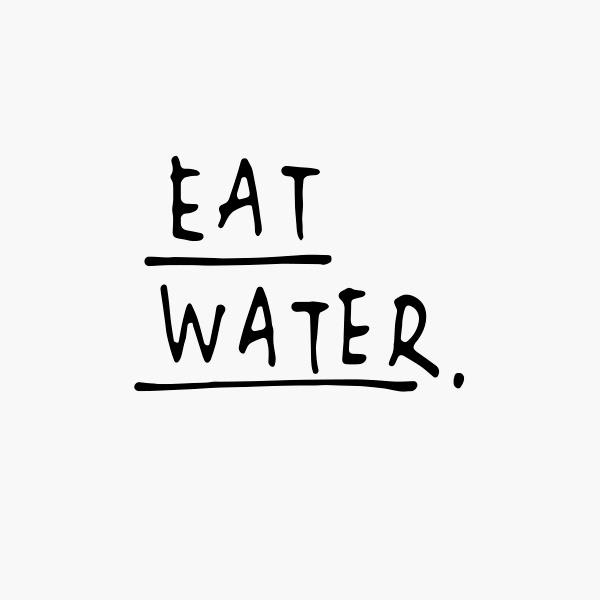 Eat Water - Mangeons de l'Eau