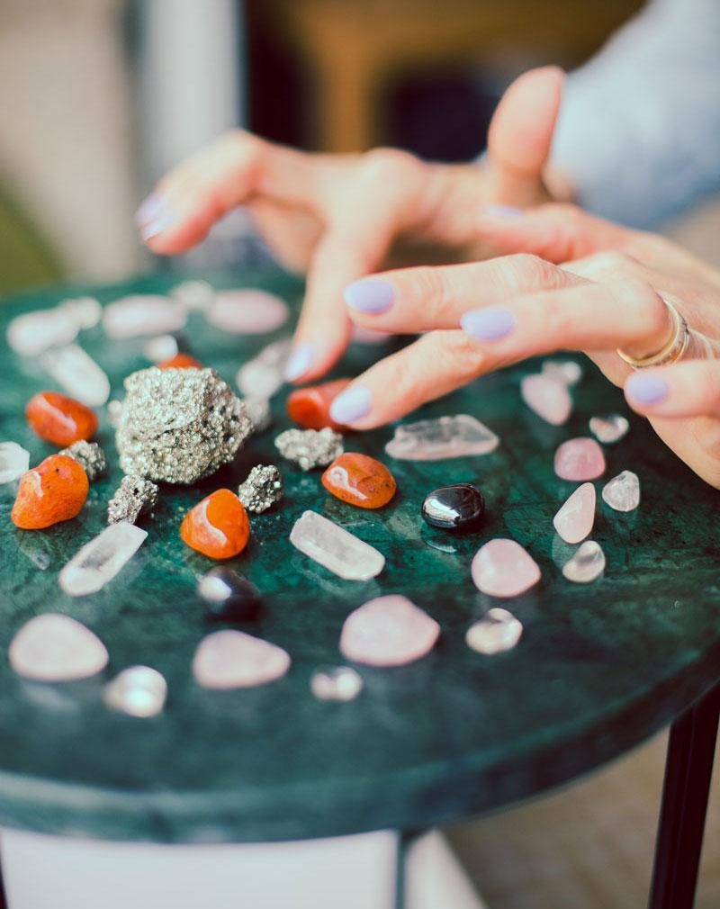 Crystal grid : le rituel du renouveau