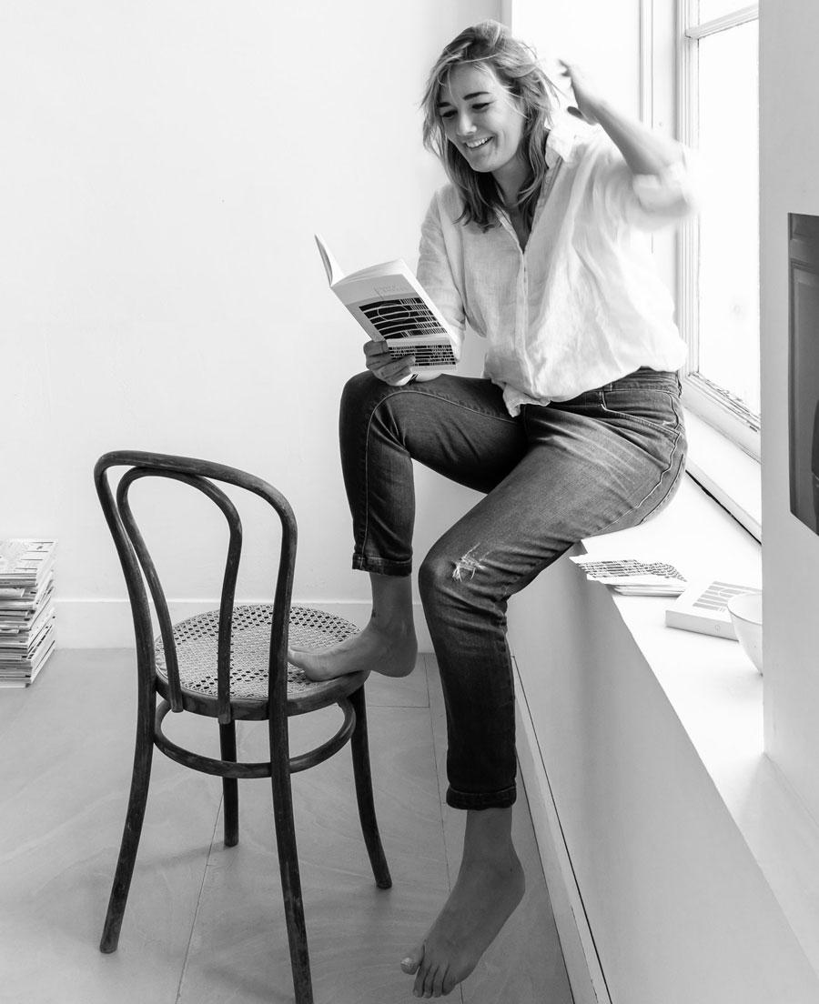 Neel Van Lierop, créatrice d'Inner Compass
